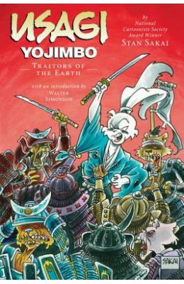 Usagi Yojimbo Volume 26: Traitors of the Earth