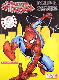 Amazing Spider-man Deluxe Colour & Activity Book