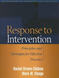 Response To Intervention: Principles And Strategies For Effective Practice