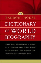 Random House Dictionary Of World Biography