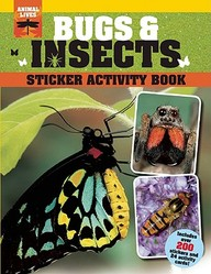 Bugs & Insects Sticker Activity Book [With Sticker(s)]