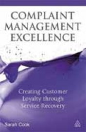 Complaint Management: Creating Customer Loyalty through Service Recovery