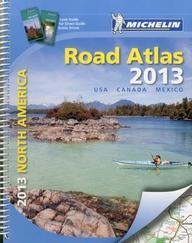 Michelin North America Road Atlas 2013 (Atlas (Michelin))