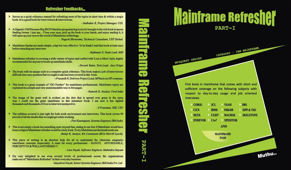 Mainframe Refresher Part 1