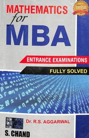 Mathematics For M.B.A. Entrance Exams