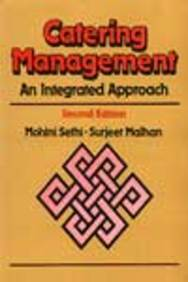 Sethi: Catering Management - an Integrated Approach 2e (Paper Only)