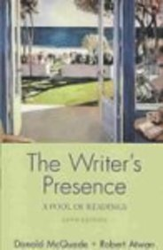 Writer's Presence: A Pool Of Readings [With 2 Paperback Books]