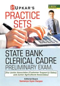 Practice Sets State Bank Clerical Cadre            Preliminary Exam For Junior Associates & Junio