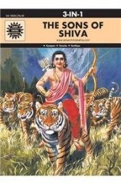 3 in 1: The Sons of Shiva (Amar Chitra Katha 3 in 1 Series)