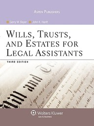 Wills, Trusts, And Estates For Legal Assistants [With Access Code]