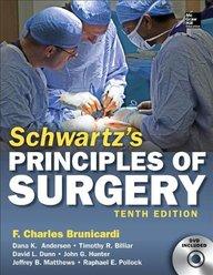 Schwartz's Principles Of Surgery W/dvd