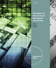 Principles Of Financial & Managerial Accounting