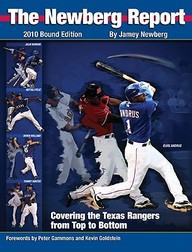 The Newberg Report, Bound Edition: Covering The Texas Rangers From Top To Bottom