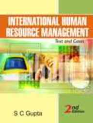 International Human Resource Management : Text And Cases, 2/E