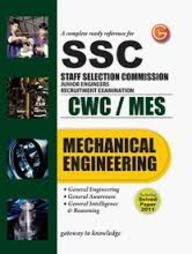 A Complete Ready Reference for SSC Staff Selection Commission Junior Engineers Recruitment Examination CWC / MES: Mechanical Engineering Including Solved Paper 2011 price comparison at Flipkart, Amazon, Crossword, Uread, Bookadda, Landmark, Homeshop18