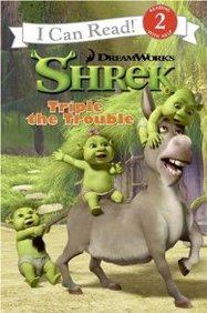 Shrek: Triple The Trouble ( I Can Read Book 2 Series)