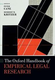 The Oxford Handbook of Empirical Legal Research price comparison at Flipkart, Amazon, Crossword, Uread, Bookadda, Landmark, Homeshop18