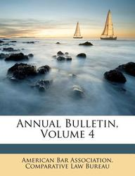 Annual Bulletin, Volume 4