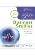 Cambridge IGCSE Business Studies: 4th Edition