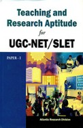 Teaching and Research Aptitude for UGC-NET/SLET