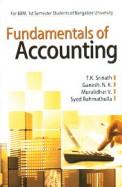 Fundamentals of Accounting for BBM 1st Sem: BU