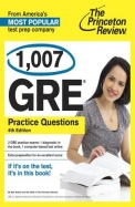 1,007 GRE Practice Questions, 4th Edition (Graduate School Test Preparation)