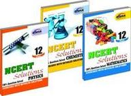 NCERT Solutions Class 12- PCM (set of 3 books)
