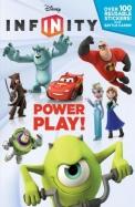Power Play! (Disney Infinity) (Deluxe Reusable Sticker Book)