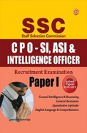 SSC (CPO-ST-ASI and Intelligence Officer) Recruitment Exam Paper-I (Including Solved Paper 2010-2012)
