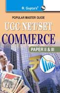 Popular Master Guide Commerce UGC NET /SET Paper 2 and 3: Code R 815