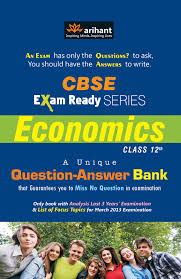 CBSE Economics Question Bank for Class 12th